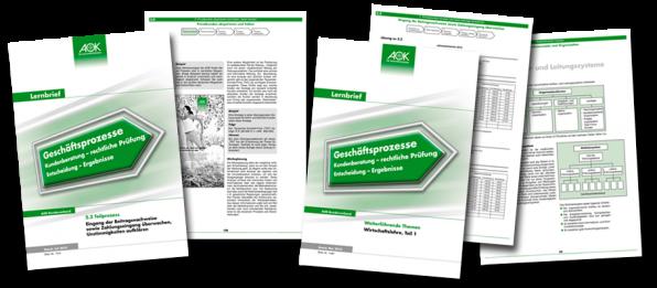 AOK - Die Gesundheitskasse! - Layout und Druck der Broschüren